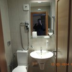 Grand, Orebic, Croatia - bathroom (a bit spartan)