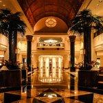 Grand lobby in the early morning, Sama-Sama Hotel KLIA