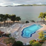 Grand, Orebic, Croatia - view from room 408
