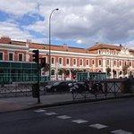 Vista Stazione Principe Pio da ingresso Hotel