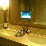 watch tv while in tub