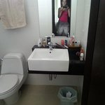 Ванная комната (за перегородкой душ)