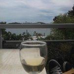 Grand, Orebic, Croatia - evening on seaside terrace