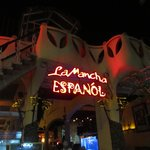 La Mancha sign on the way in