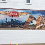 One of the murals.  Interesting story to be heard behind the idea of the mural.