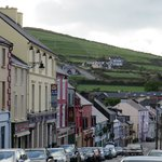 Looking down a street in Dingle