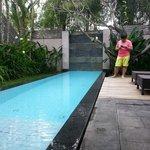 Private pool for each villa