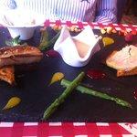 la déclinaison autour du foie gras ... délicieux !!
