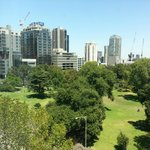 Terrific view of Flagstaff Gardens