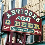 Antiques Art and Beer