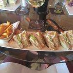 Colors Cafe. Best club sandwich.