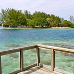 View from the Porch of Utila Cays Inn