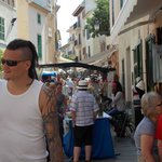 market day in old alcudia town