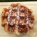 Crispy Belgian waffle