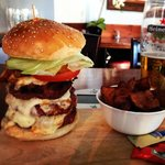The 'Grizzly Bear Burger' - 24oz!!
