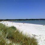 Balka Beach on a sunny day