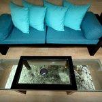 room glass floor