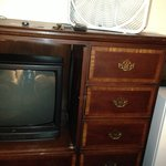 TV and furniture from another era