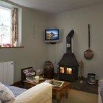 Plas Gwyn Cottage Living Room