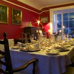 Plas Gwyn Breakfast/Dining Room