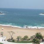 La playa desde el Sky bar