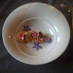 Sashimi de homard