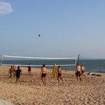 Volleyball on Jomtien