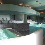 Inside pools