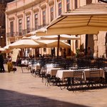 Piazza di duomo in Ortigia