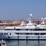 Yachts docked at Ortigia