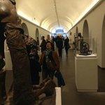 il corridoio interno del museo
