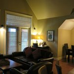 Family/Living Room and Dining Room