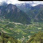 View from Alpe d'Huez