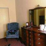 Bedroom 1 sitting area