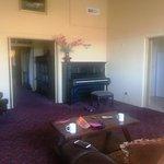 Main living area/piano