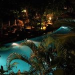 santhiya at night ( main pool area)
