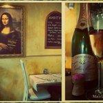 Monna lisa et champagne...