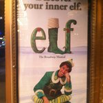 Poster for Elf the Musical