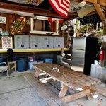 Communal kitchen/pavilion