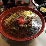 Spicy beef ramen
