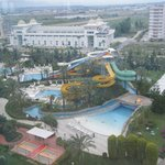 The aquapark from the lift