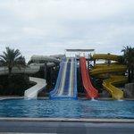 Part of the Aquapark