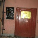 entrada al hotel en la calle Rubinshteina street