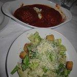 Cesear Salad & Rissoto Balls for Appitizers