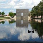Ducks at the memorial