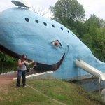 Heehee - me + whale