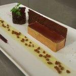 Fois gras et spéculo huile de pistache