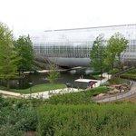 Park around conservatory