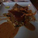 Big Eye Tuna Steak dinner