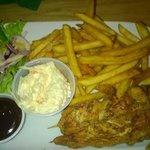 pollo speziato e salse